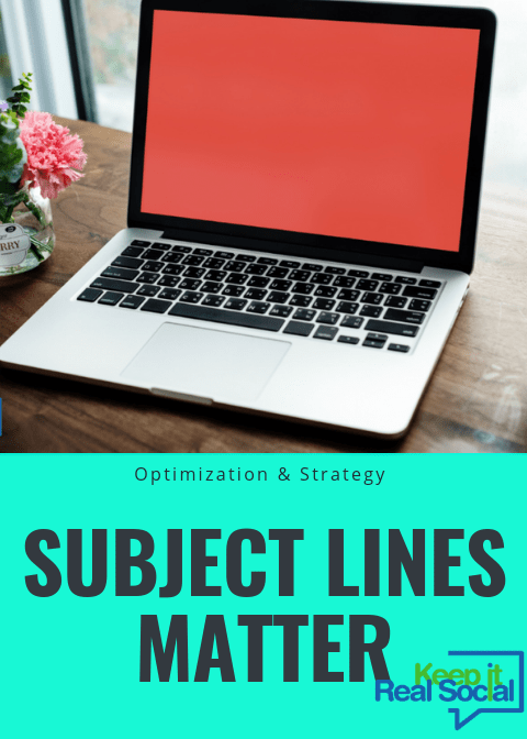 Subject Lines Matter