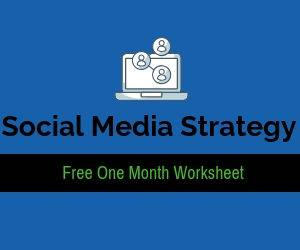 Social Media Strategy Worksheet