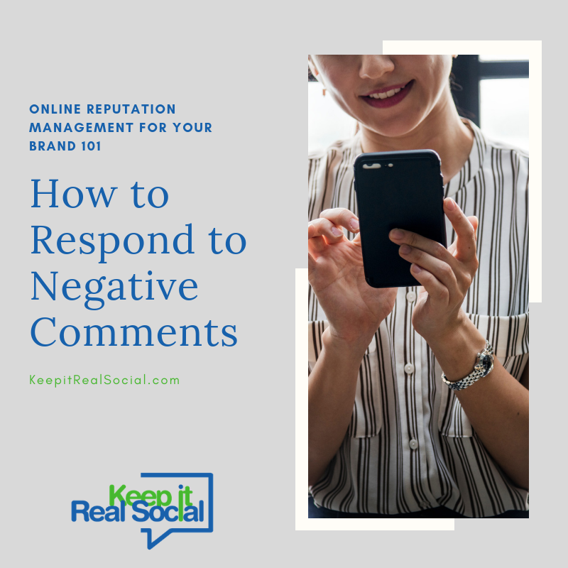 How to Respond to Negative Comments