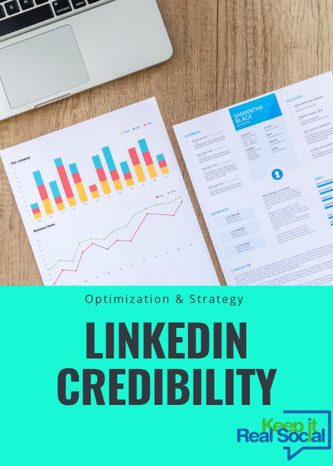 How to increase linkedin credibility