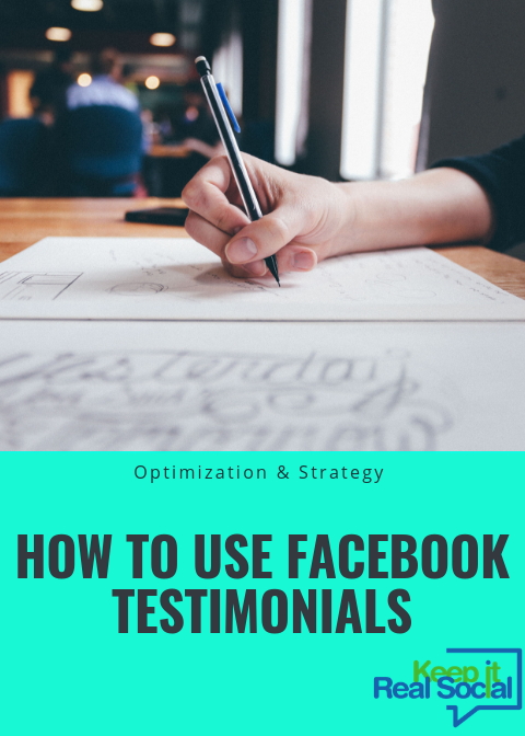 how to use facebook testimonials