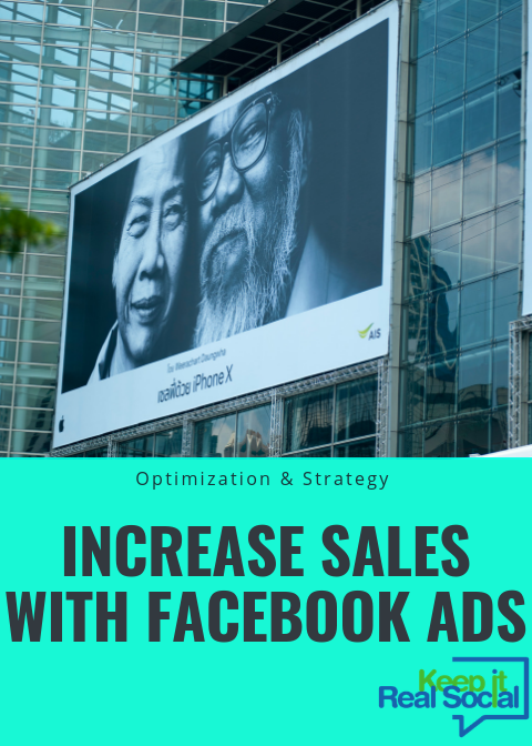 increase sales with facebook ads