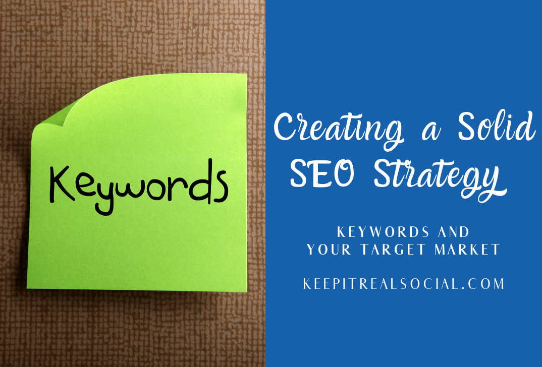 Keywords-A Glimpse into what your target audience wants and needs