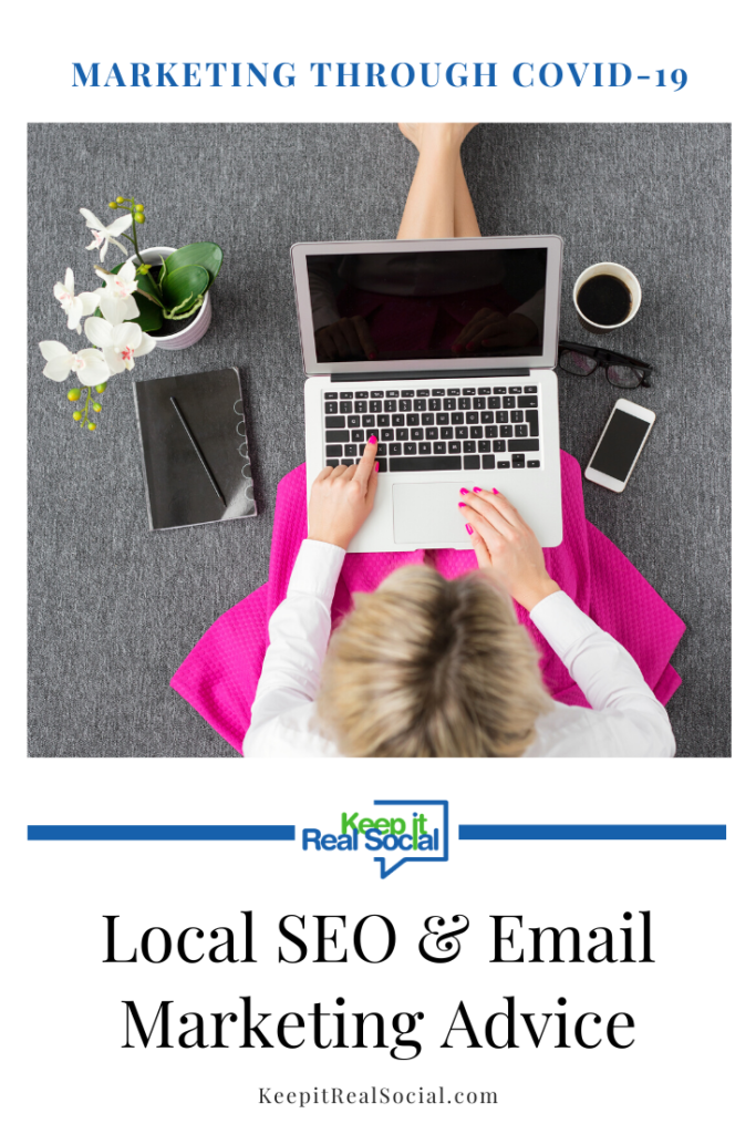 Local SEO & Email Marketing Advice from Social Media Expert and Consultant Sommer Poquette, CEO of Keep it Real Social in Petoskey, Michigan.