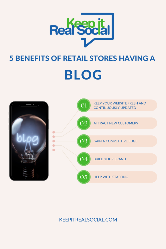 5 Reasons Retail Stores Should Have a Blog