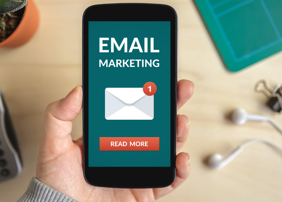 Email marketing on iPhone