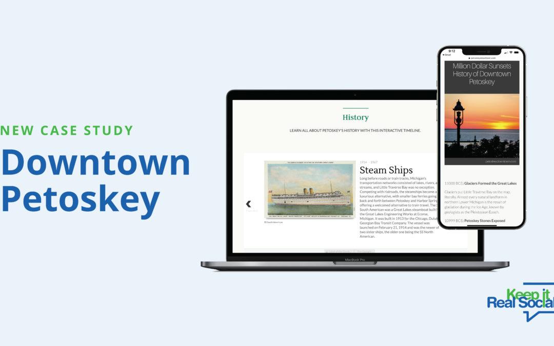 Social Media Marketing Success Case Study: Downtown Petoskey